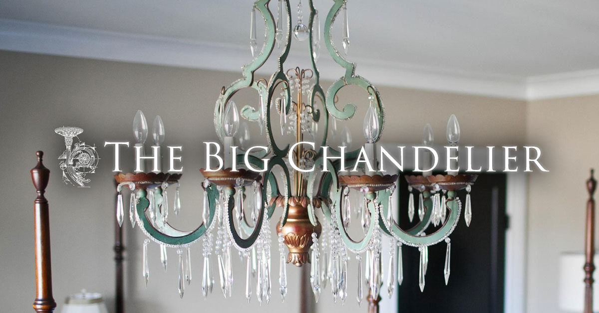 The Big Chandelier - Vintage, Antique Lighting in Atlanta Georgia