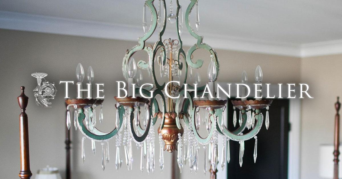 The Big Chandelier - Vintage, Antique Lighting in Atlanta Georgia