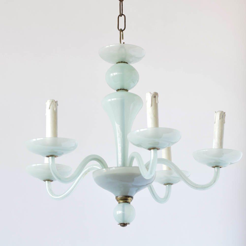 Sea foam green glass chandelier the big chandelier sea foam green glass chandelier aloadofball Gallery