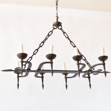 Blacksmith made Frecnh chandelier