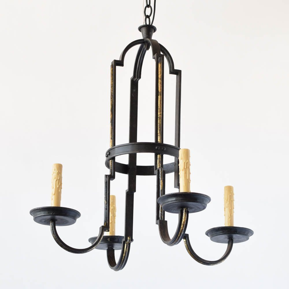 Tall simple iron chandelier the big chandelier tall simple iron chandelier arubaitofo Choice Image
