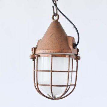 Vintage Nautical Lantern from Belgium
