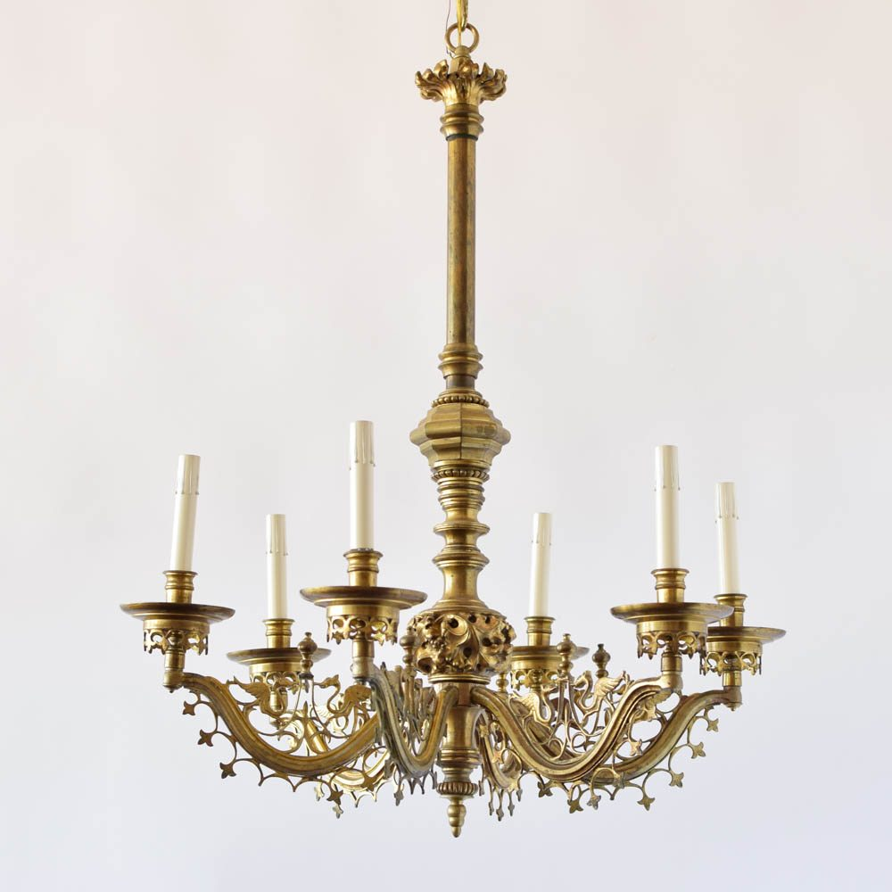 Antique french ecclesiastical chandelier the big chandelier antique french ecclesiastical chandelier arubaitofo Image collections