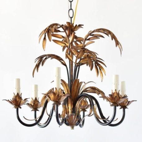 palm frond gilt