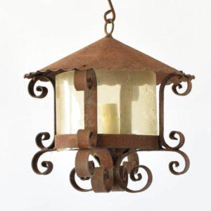 lantern yellow glass