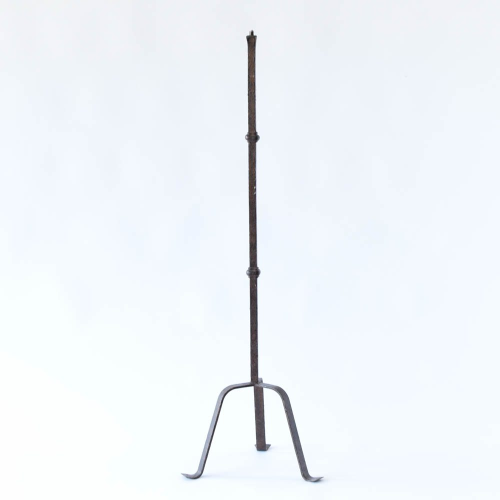 Belgian iron floor lamp the big chandelier for Giant retro floor lamp the range