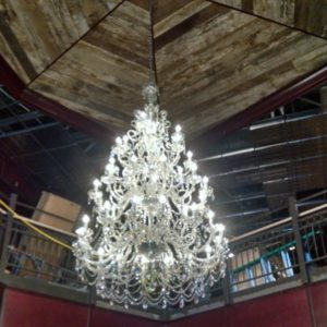 Venitian Crystal chandelier with 40 lights