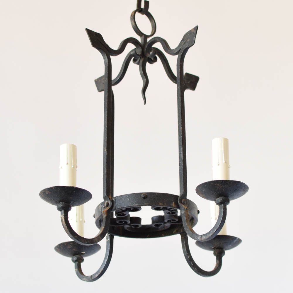 Small neo gothic chandelier the big chandelier vintage neo gothic chandelier aloadofball Images