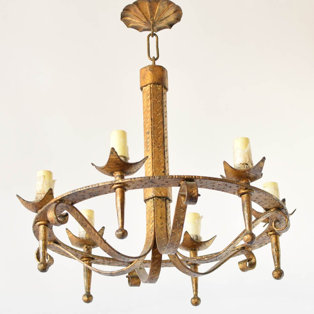 Simple Spanish Chandelier (2 avail.) - Simple Spanish Chandelier (2 Avail.) - The Big Chandelier
