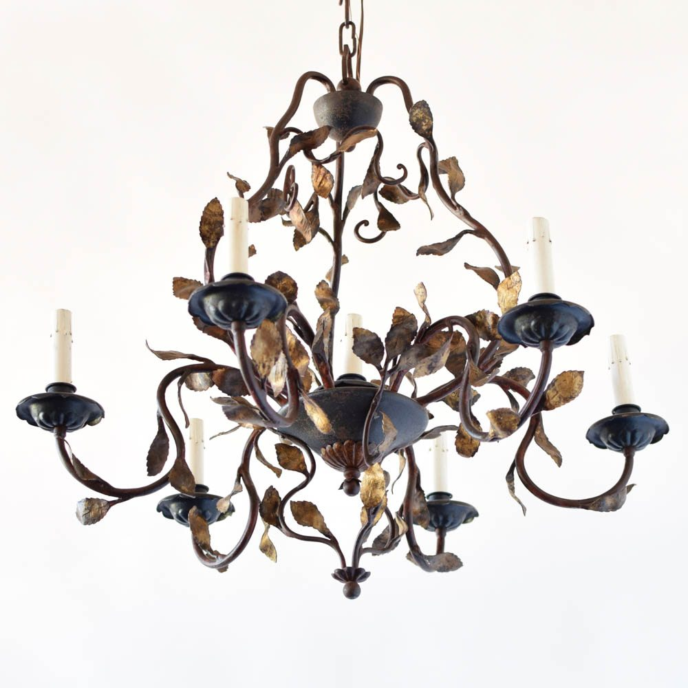 Italian chandelier with leaves the big chandelier italian chandelier with leaves 1250 aloadofball Gallery