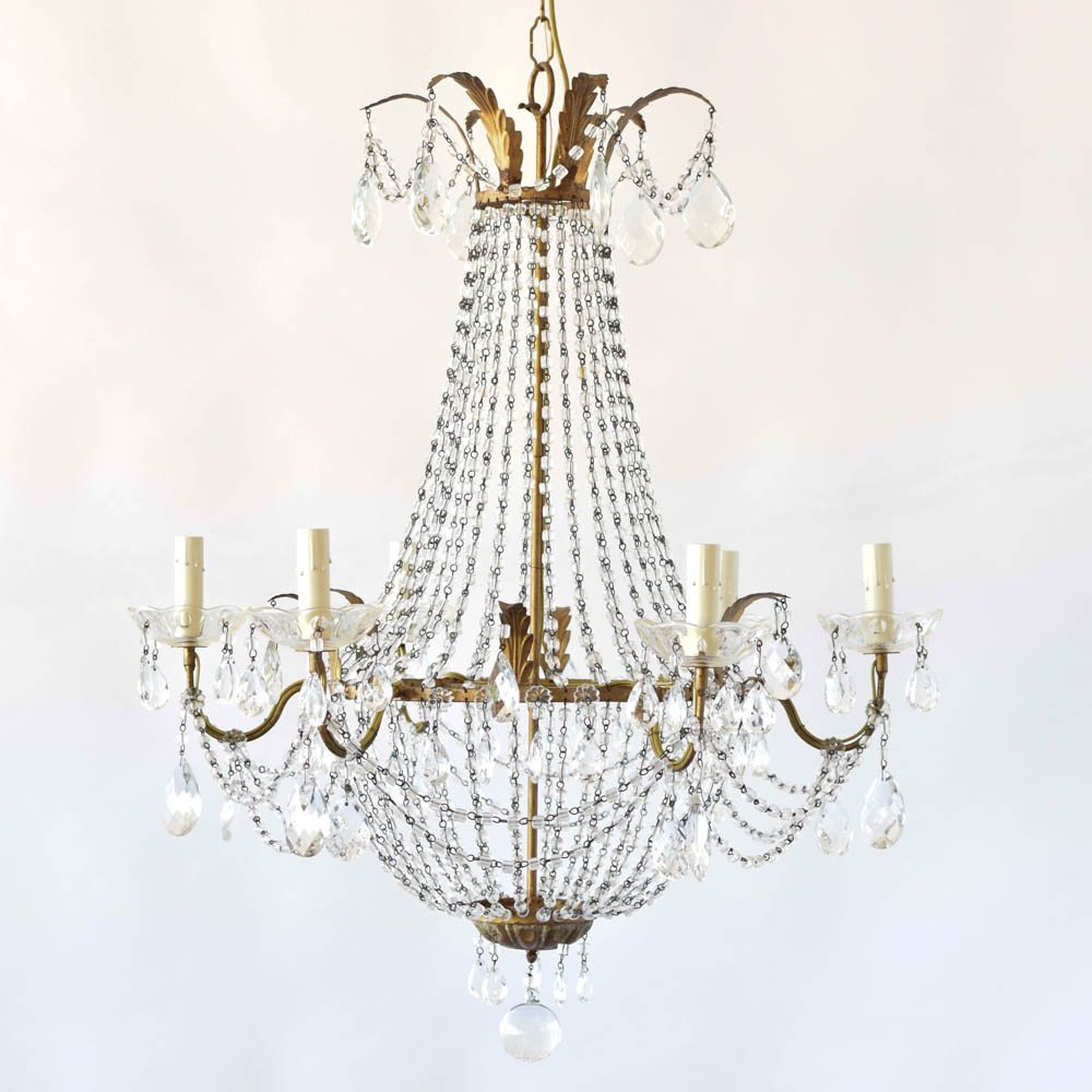 Italian crystal chandelier the big chandelier italian crystal chandelier aloadofball Gallery