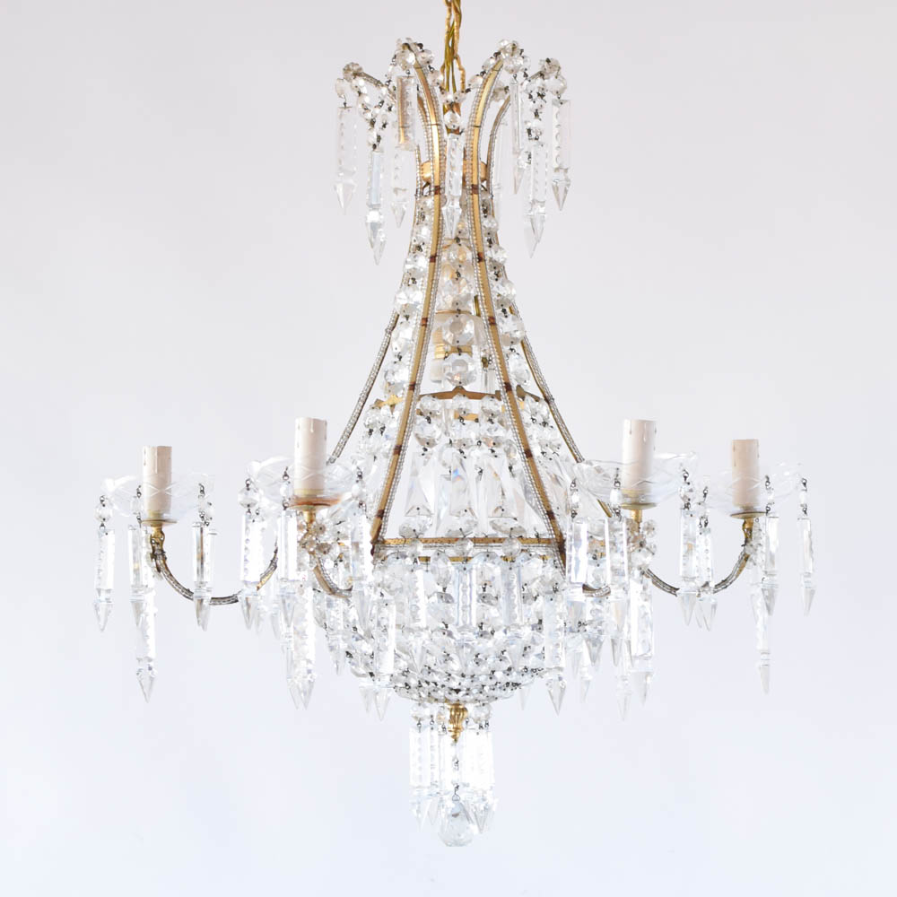 Beaded arm crystal chandelier the big chandelier 1500 aloadofball Image collections