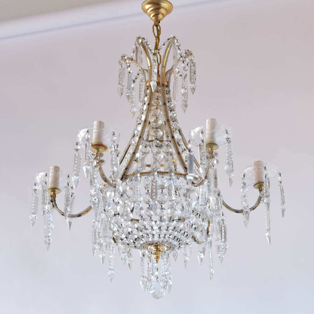 Beaded arm crystal chandelier the big chandelier beaded arm crystal chandelier 1500 aloadofball Gallery
