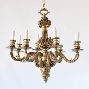 Heavy Bronze Mazarin from Mid 1900s
