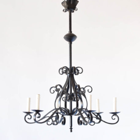 Iron French Country Chandelier