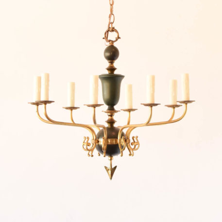 8 light empire chandelier