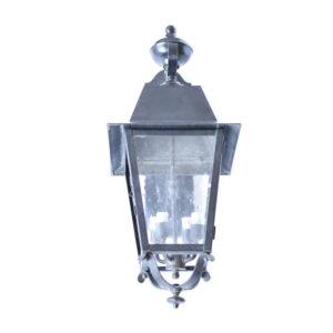 Medium Solid Brass Reverse Mounted Lantern