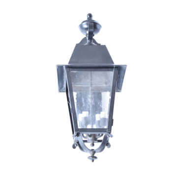 Medium Solid Brass Reverse Mounted Lantern