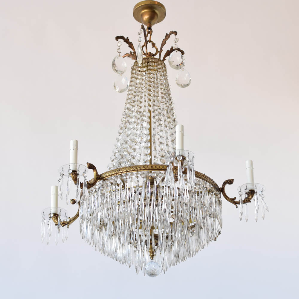 Empire Chandelier Finest French Empire Crystal Chandelier