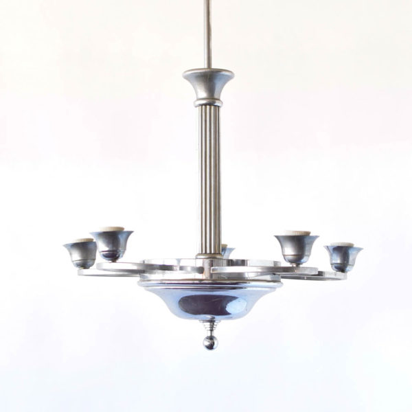 Belgian Art Deco Chandelier
