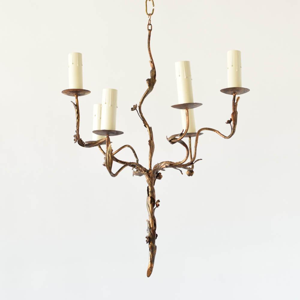 Viney spanish chandelier the big chandelier gilded spanish chandelier mozeypictures Choice Image
