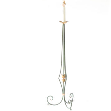Vintage Iron Floor Lamp