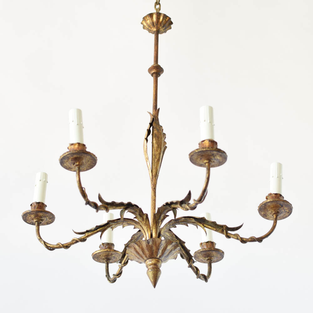 Gilded spanish chandelier 2 avail the big chandelier mozeypictures Choice Image