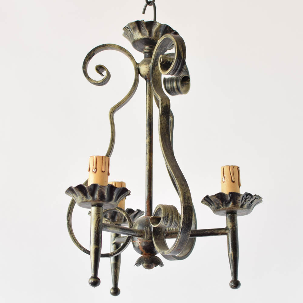 Pair of small chandeliers the big chandelier pair of small belgian chandeliers aloadofball Images