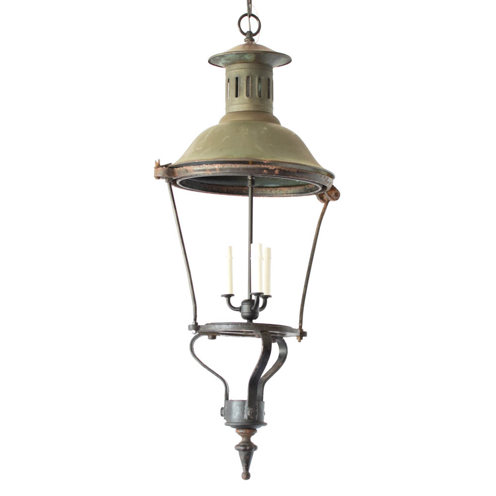 Antique Street Lantern from France  sc 1 st  The Big Chandelier & Antique Street Lantern (3 Avail.) - The Big Chandelier azcodes.com