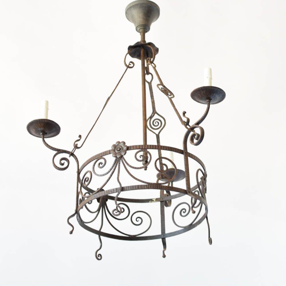 Arts crafts chandelier the big chandelier aloadofball Images