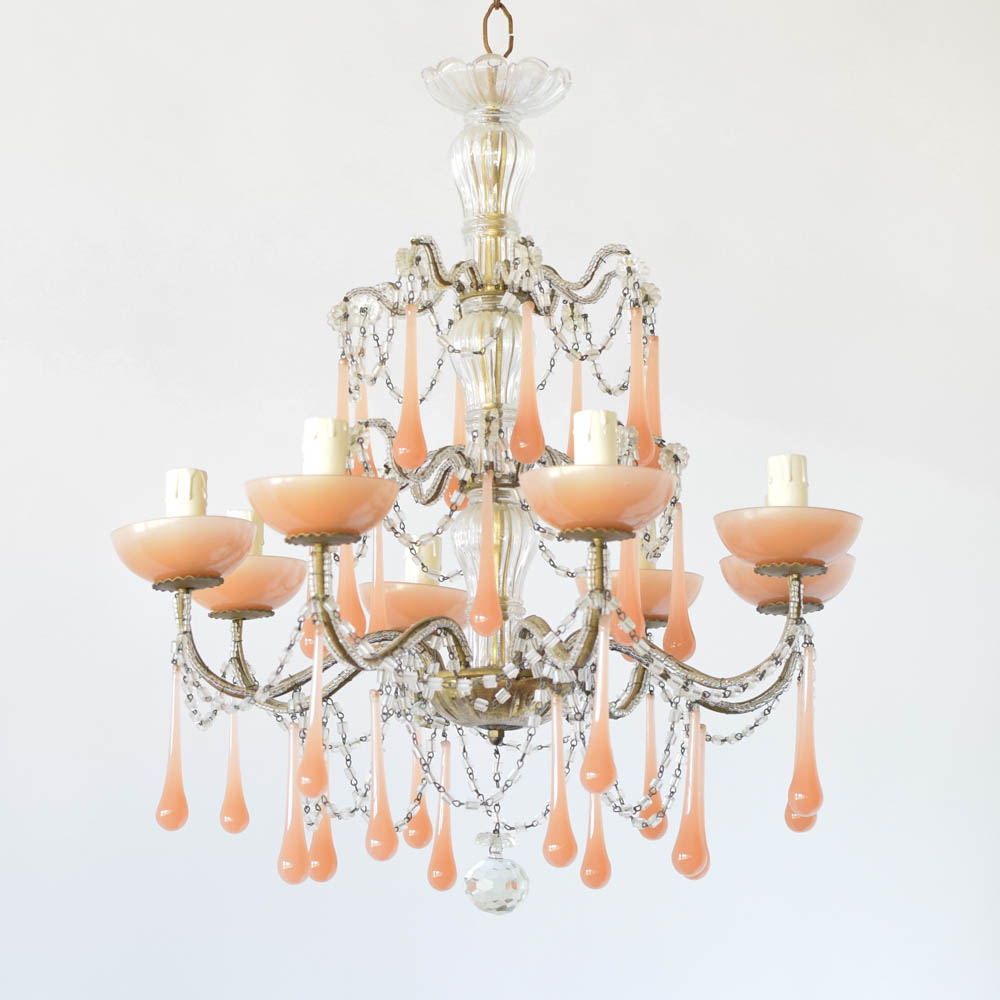 shipping product free overstock light today chandelier and wrought garden home crystal messina iron