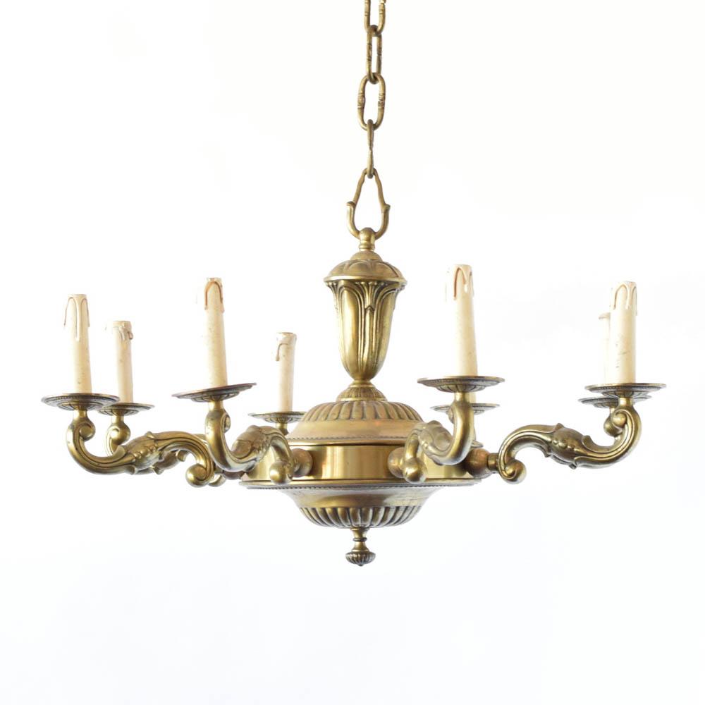 Bronze archives the big chandelier art deco bronze chandelier arubaitofo Image collections