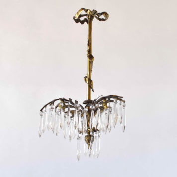 Small Louis XVI Chandelier from France