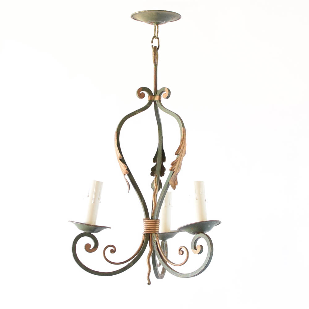 Small french country chandelier the big chandelier small iron chandelier from france aloadofball Gallery