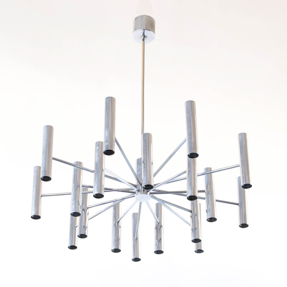 Mid Century Chandelier w/ Up-Down Lights - The Big Chandelier