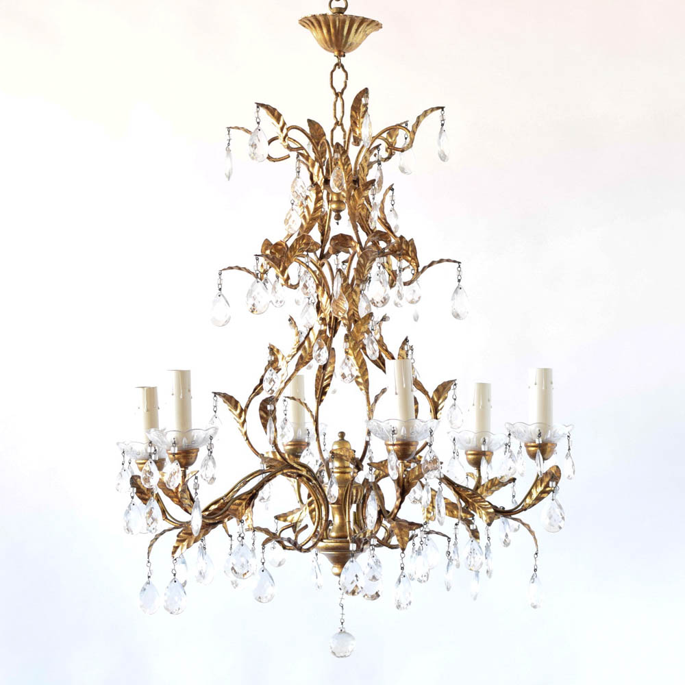 beauty chandelier wrought iron and bring image vintage wonderful of warmth will crystal