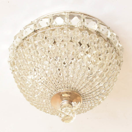 Crystal flush mount from Spain