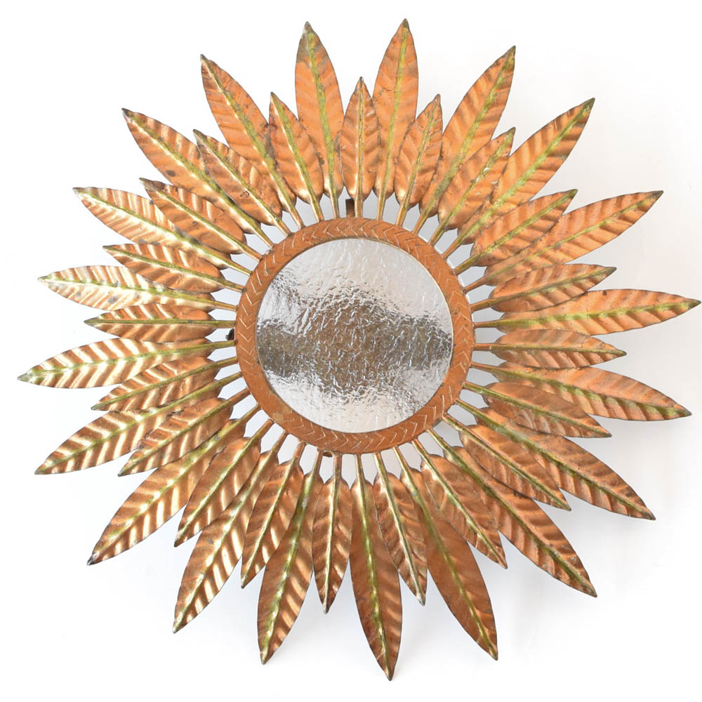 Sun form flush mount wglass plate the big chandelier sun form flush mount from europe arubaitofo Image collections