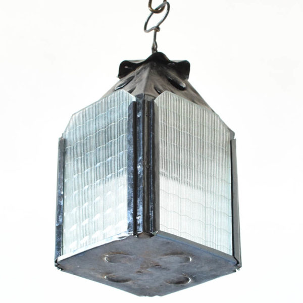 simple iron lantern from spain