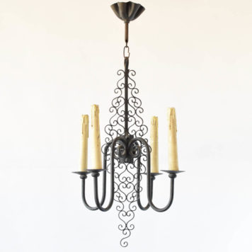 simple chandelier from Belgium