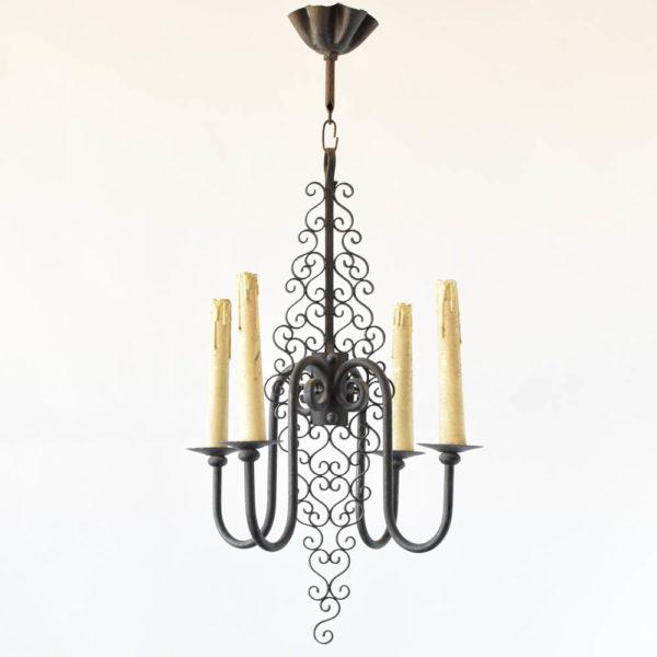 simple chandelier from Belgium