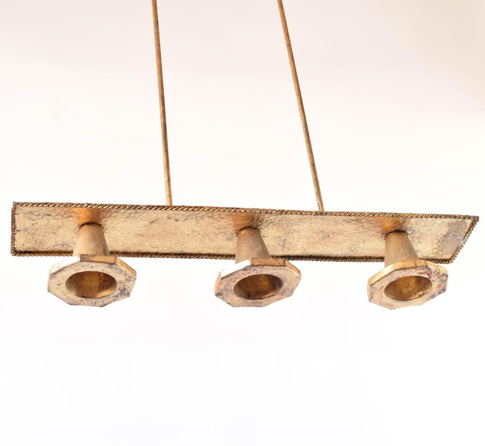 Elongated gilded down light fixture the big chandelier elongated gilded down light fixture from spain arubaitofo Gallery