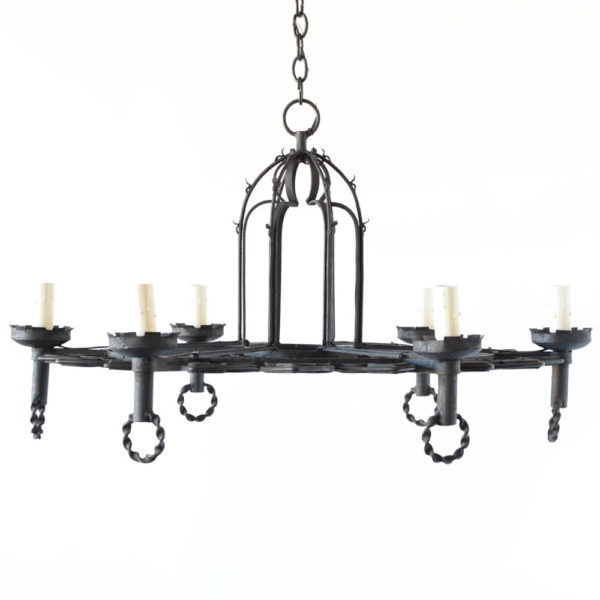 Neo Gothic Era Chandelier from Belgium