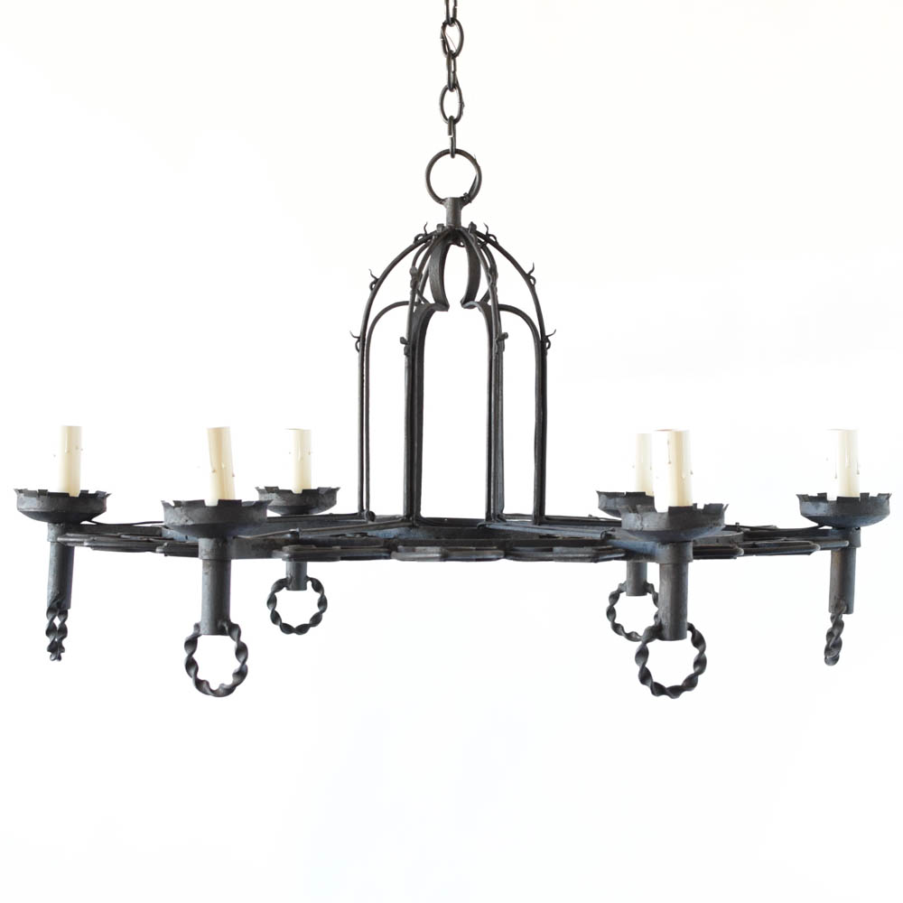 Belgian neo gothic chandelier the big chandelier neo gothic era chandelier from belgium aloadofball Images