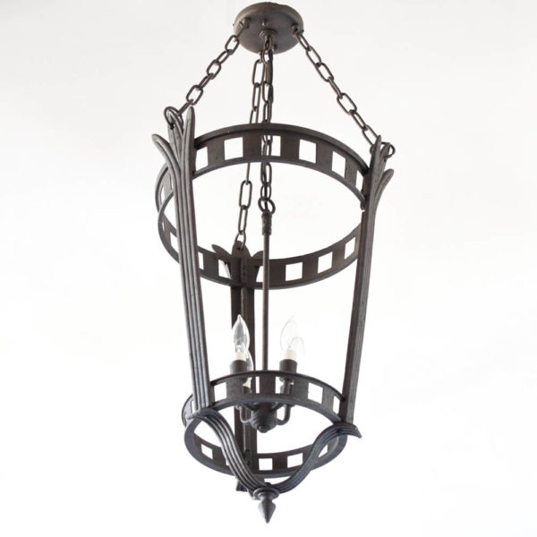 Large Iron chandelier from Europe