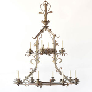 Iron Neo Gothich Chandelier from france