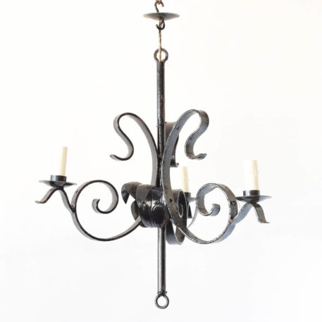iron Chandelier from Spain
