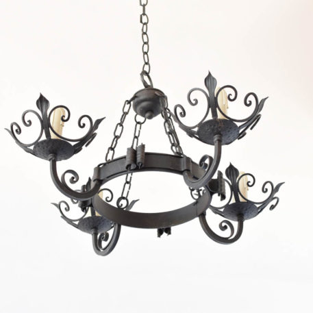 Small Iron chandelier from France