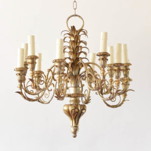 Pineapple Chandelier from ITALY
