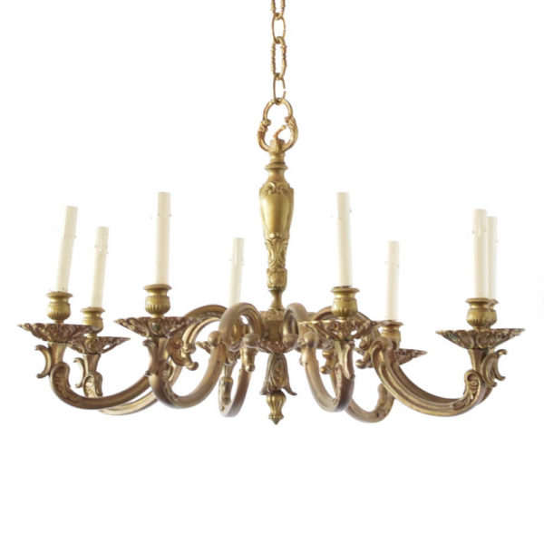 Bronze chandelier from France